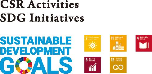 CSR Activities SDG Initiatives